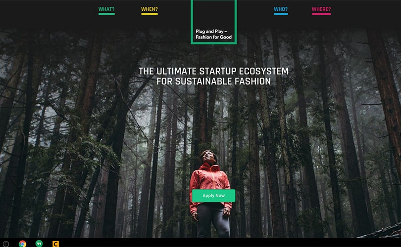 Fashion for Good & Plug and Play & Kering support textile start-ups