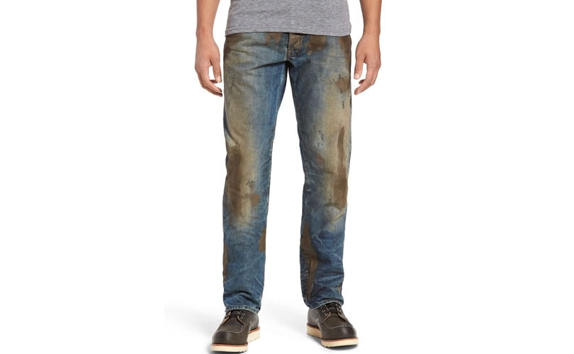 "Nordstrom finds itself in controversy over ""mud"" jeans"