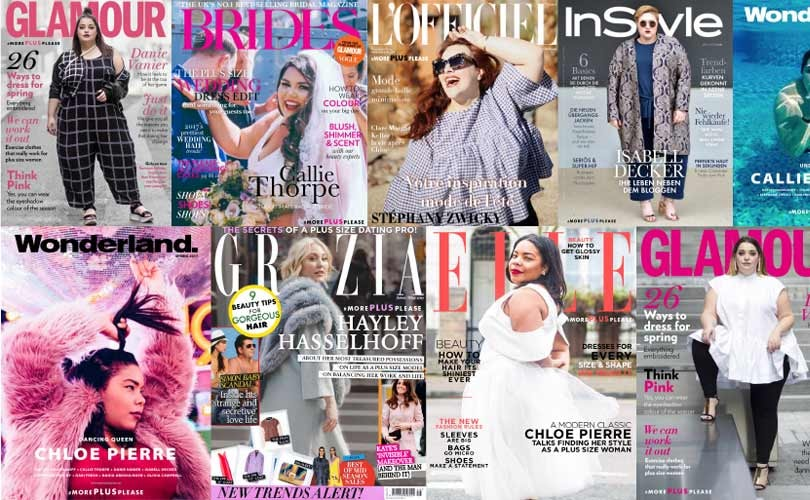 Navabi features plus size women on cover pages
