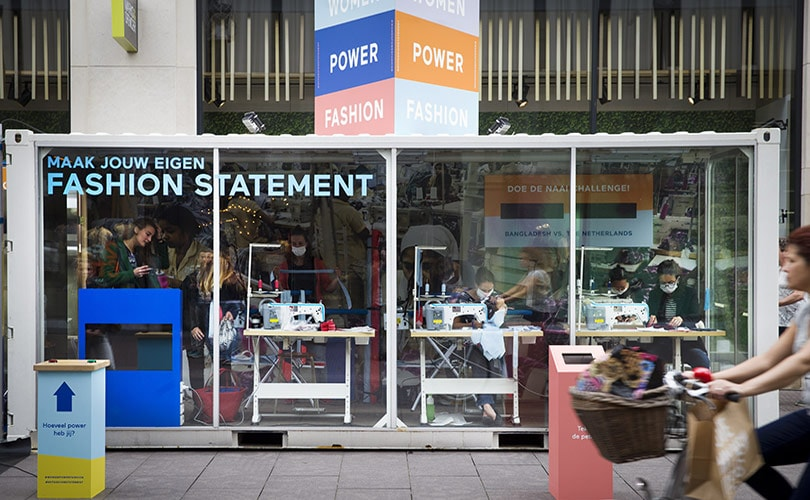 Pop-up Sweatshop urges the Fashion Industry to be more Transparent