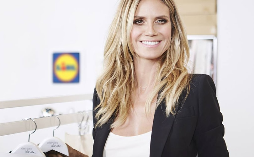 Lidl to launch exclusive Heidi Klum fashion collection