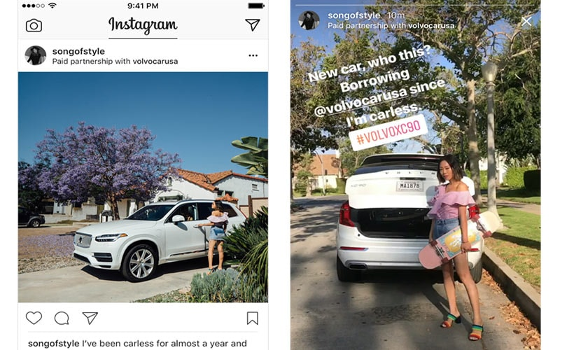 Instagram to add commercial partnership labelling