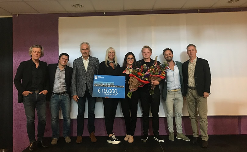 FINDS Guide concept wins the first Meester Koetsier Entrepreneur Award