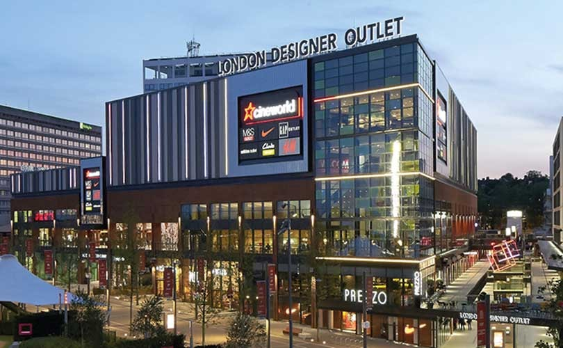 Converse to open first retail store at london designer outlet for Outlet design