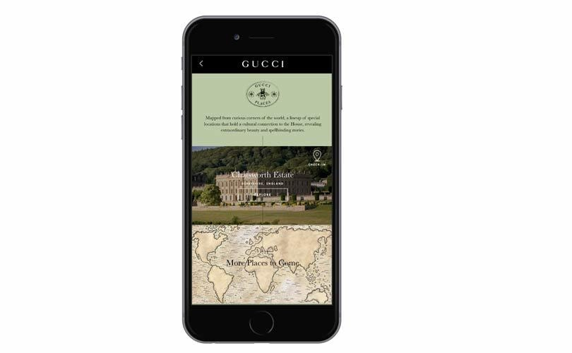 Gucci lanza nueva iniciativa digital: Gucci Places