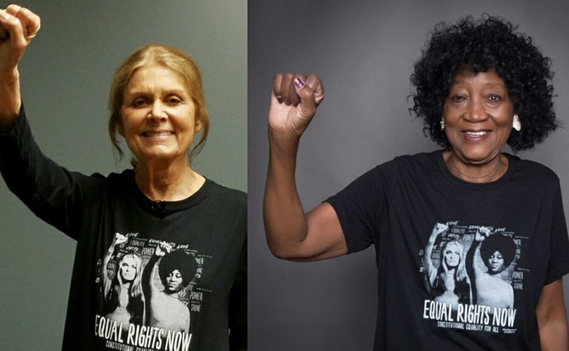 Gloria Steinem, Dorothy Pitman Hughes release t-shirt to support Equal Rights Amendment
