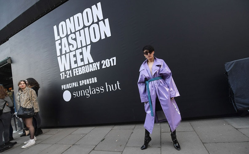 The 'Data Scoop' on London Fashion Week SS18