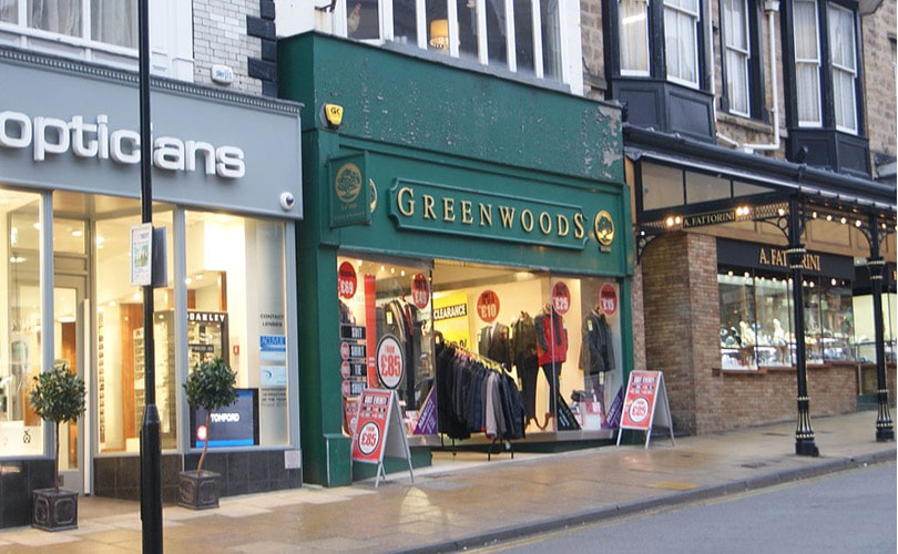Menswear specialist Greenwoods enters into administration
