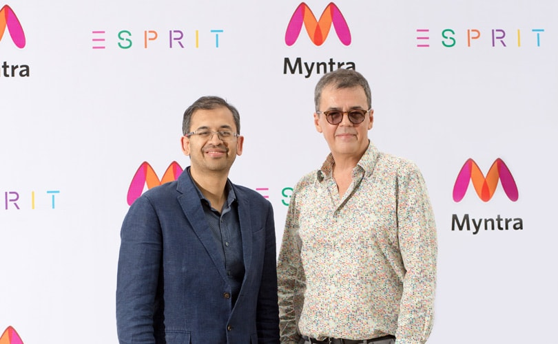 Myntra brings back Esprit to India, to open 15 stores