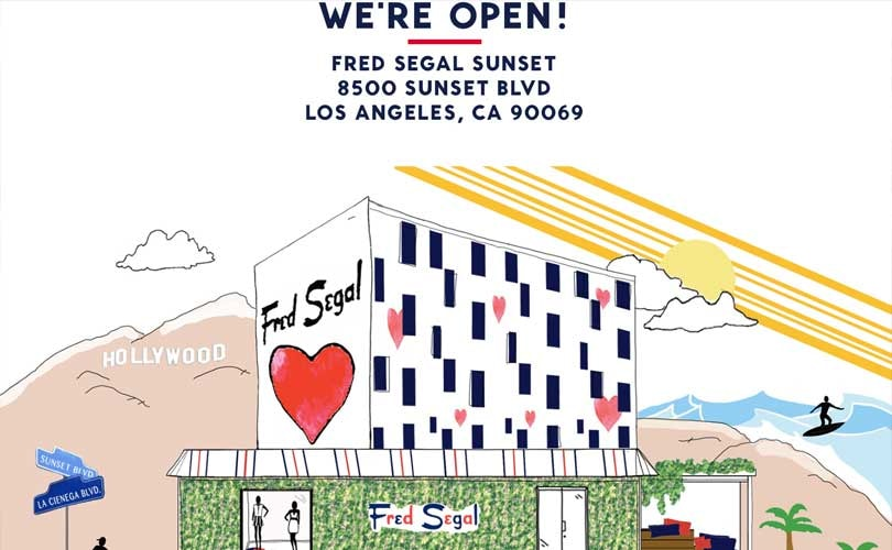 Fred Segal opens WeHo boutique