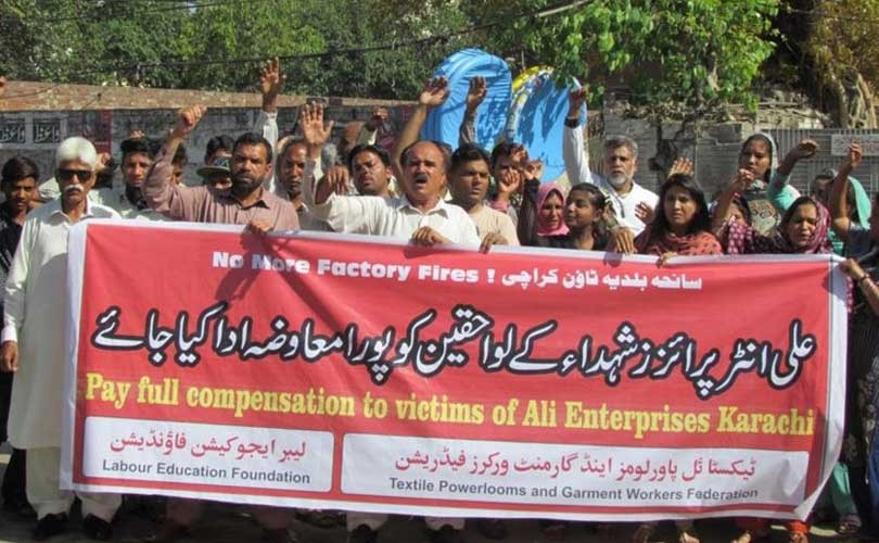 Five years after Ali Enterprises fire, not much has changed in Pakistan's garment industry