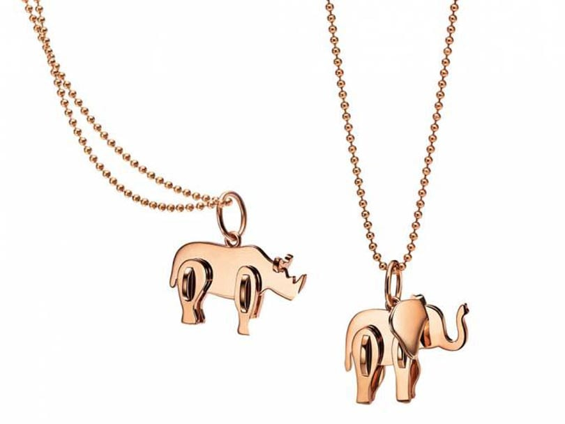 Supermodels join forces with Tiffany & Co to highlight elephant endangerment
