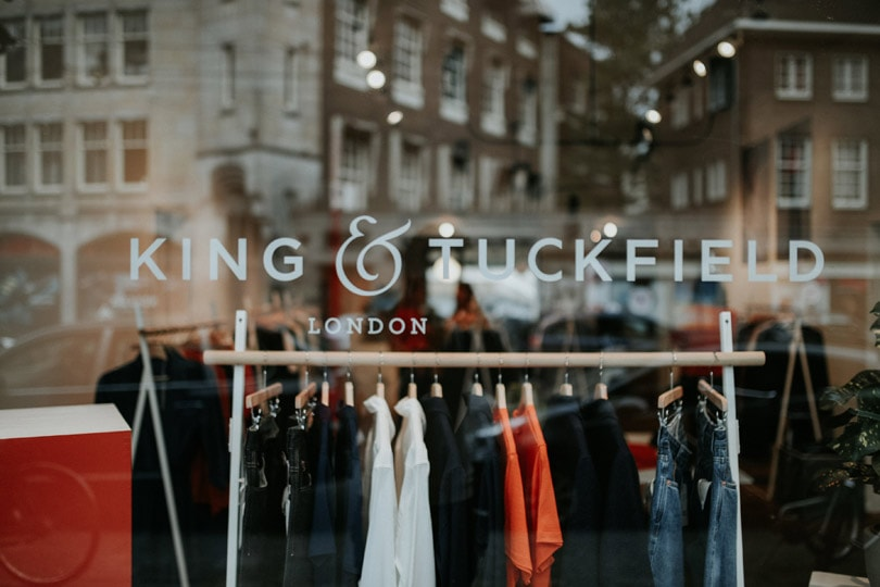 King & Tuckfield: 'Every time you wear a pair of our jeans, you create your own identity'