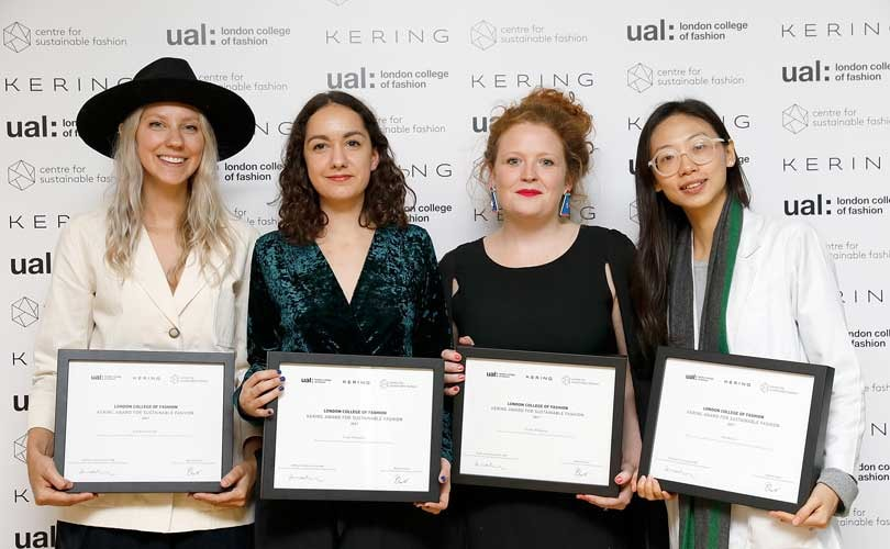 Kering announces sustainable winners