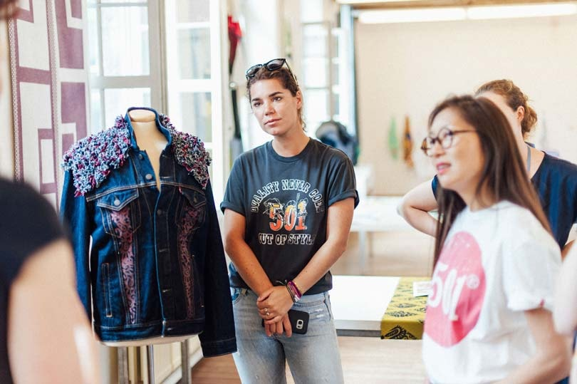 In pictures: KASK students give Levi's Trucker Jacket a make-over