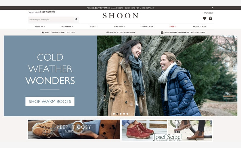 Shoon shuts stores after entering into administration
