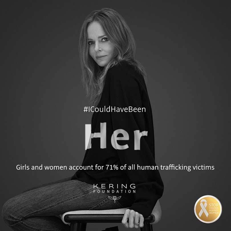 #ICouldHaveBeen: Kering Foundation campaigns to end violence against women