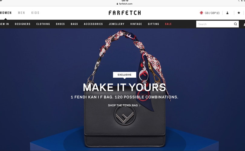 Fendi and Farfetch launch bespoke handbag service