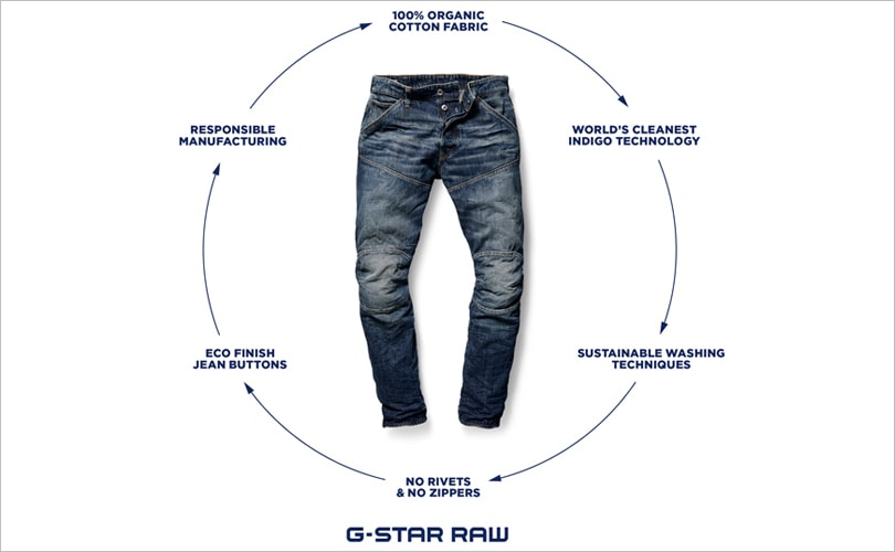 G Star Raw Unveils Most Sustainable Jeans Ever