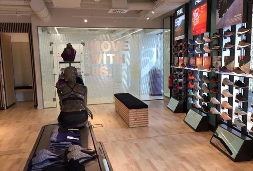 asics new store
