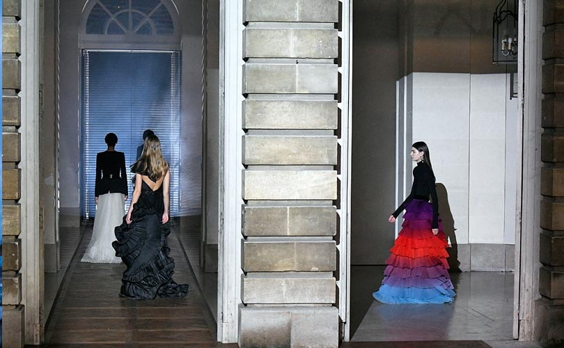 Designer Waight Keller wows with Givenchy couture debut