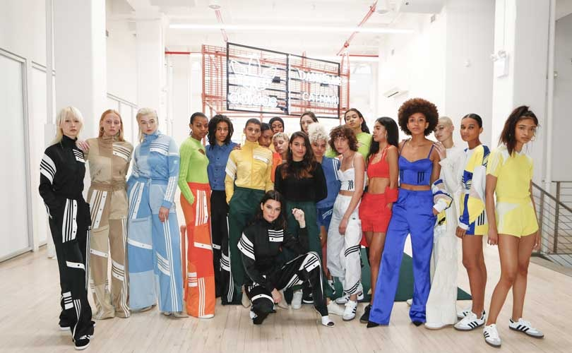 Adidas Originals debuts collaboration with designer Danielle Cathari at NYFW