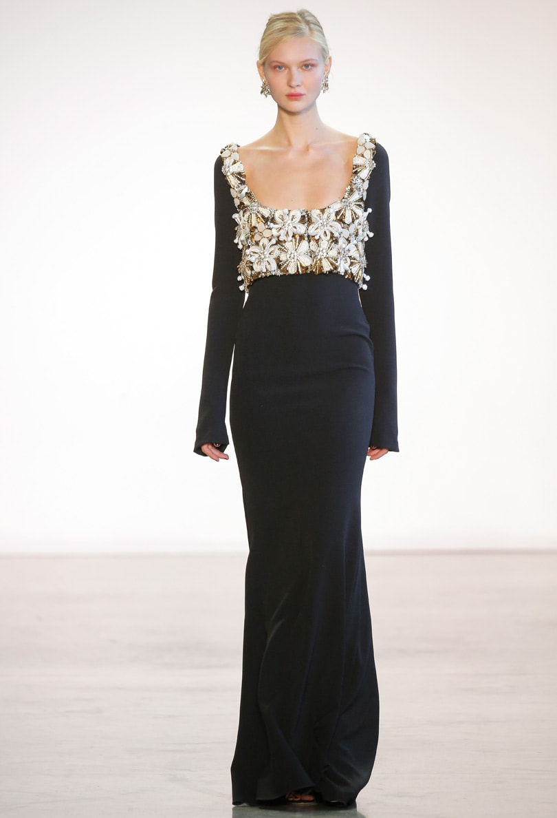 Evening wear is not dead according to Badgley Mischka and Naeem Khan