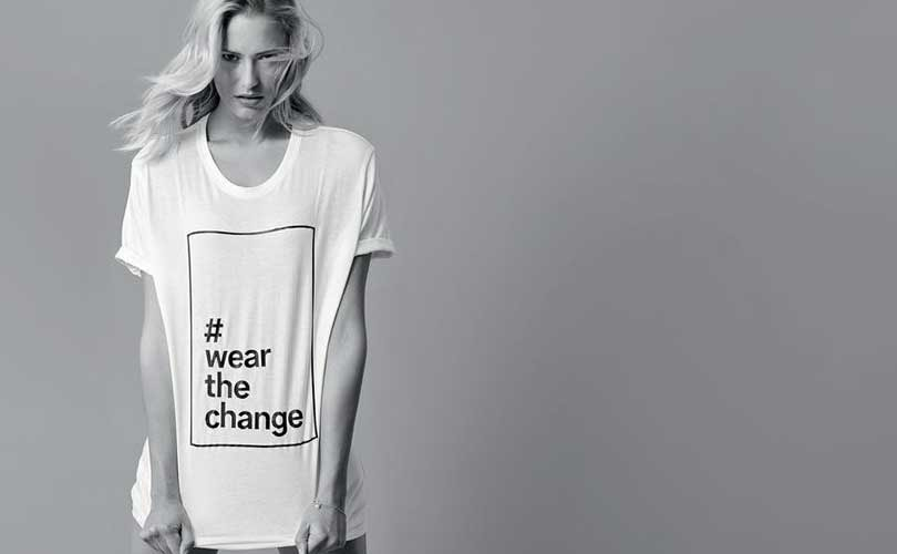 C&A launches new fair fashion collection #WearTheChange