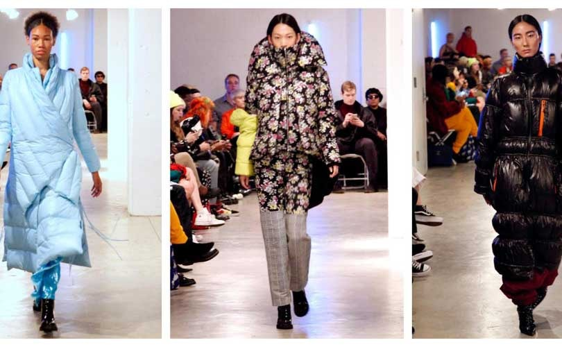 Kim Shui does extreme sporting for New York Fashion Week