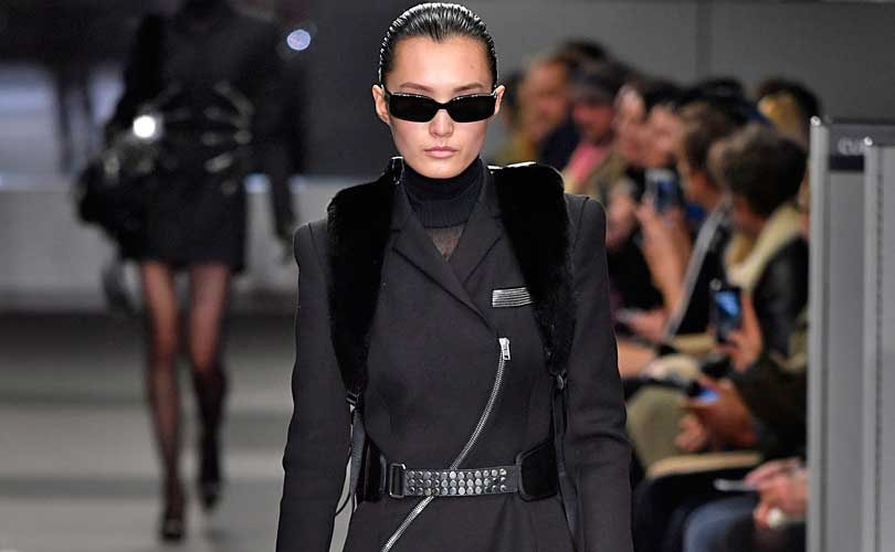 Alexander Wang, the designer who embodies the downtown New York cool so  beloved of off-duty models, and Philipp Plein offered contrasting  perspectives on ... dda9a90ff9