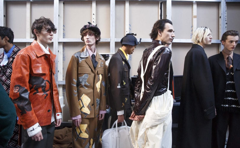 Fall Winter 2018-19 Men's Colour on the Catwalks