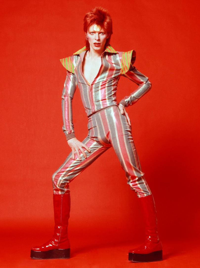 "In Pictures: ""David Bowie Is"" Half a Century of Fashion"