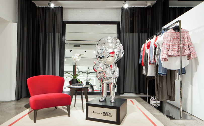 Karl Lagerfeld officially opens first U.S. store