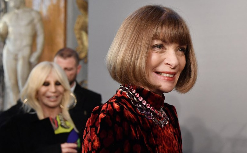 Addressing the rumours of Anna Wintour exiting Vogue