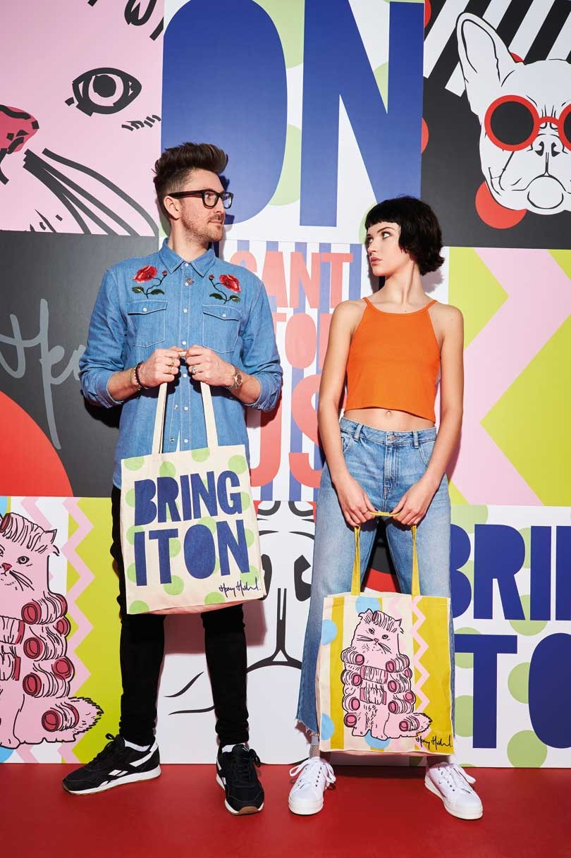 Henry Holland joins forces with Primark for GFW