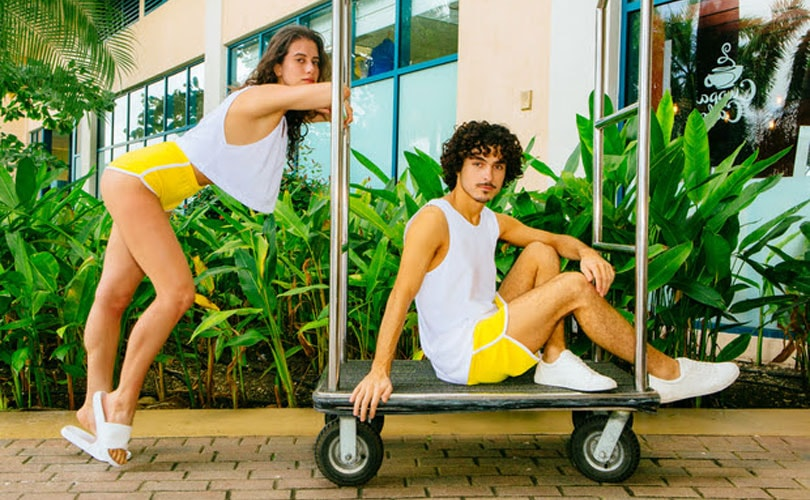 American Apparel launches Loop Terry campaign
