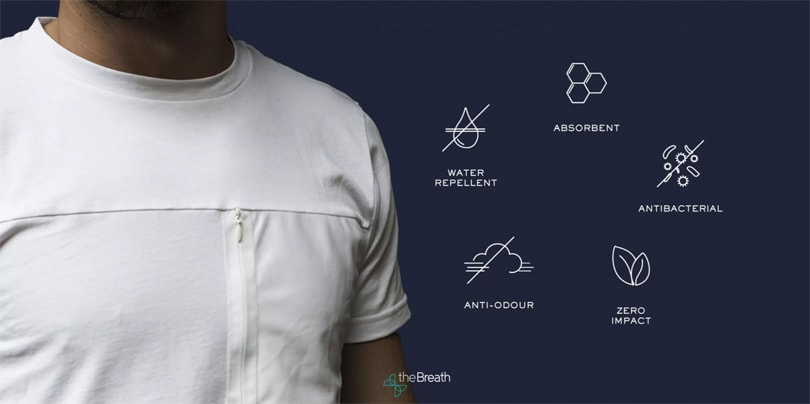 Italian start-up creates zero-impact t-shirt that cleans our air