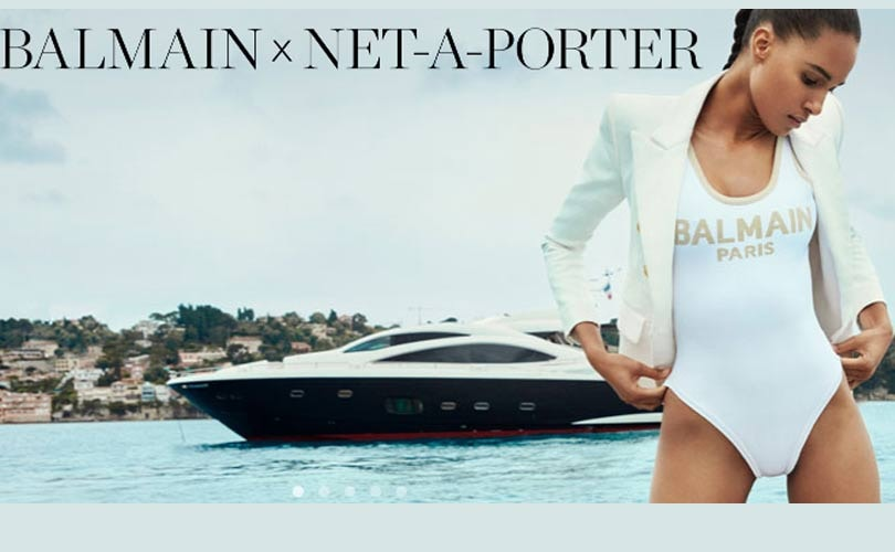 In Pictures: Net-a-Porter launches exclusive capsule collection with Balmain