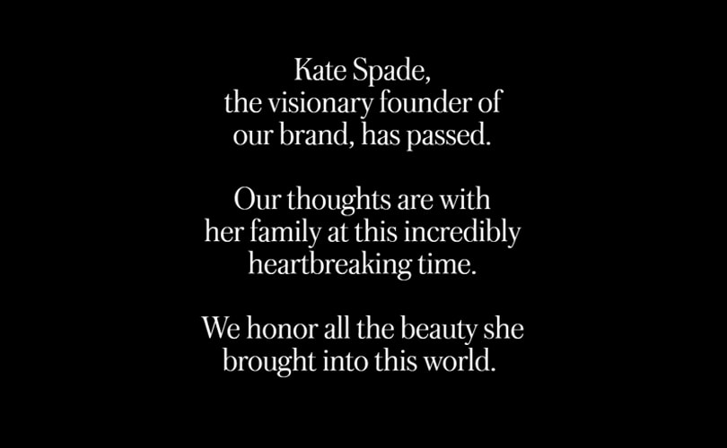 Kate Spade's legacy: a 2.4 billion dollars fashion empire
