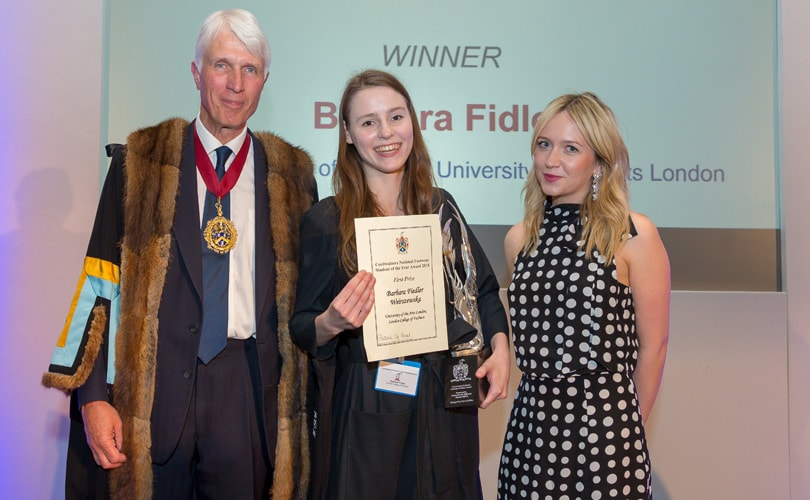 Cordwainers names National Footwear Student of the Year
