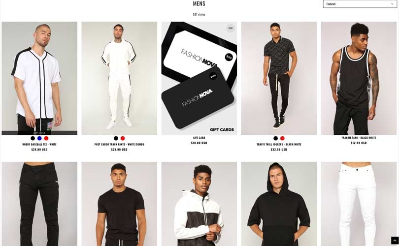 Fashion Nova launches menswear line