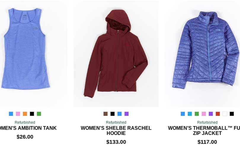 b83777b560c6ae The North Face launches collection featuring refurbished items