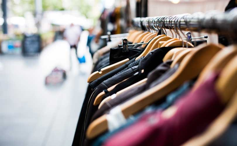 75 percent of fashion purchases made at physical shops, but people spend more online