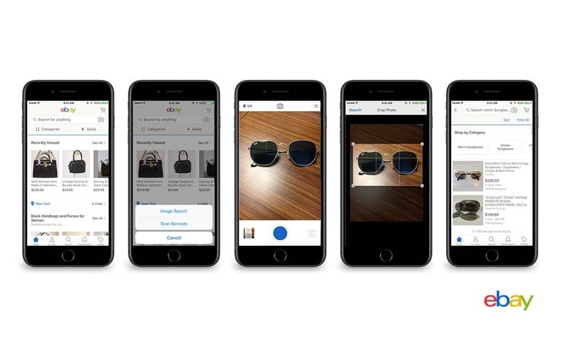 eBay launches visual search