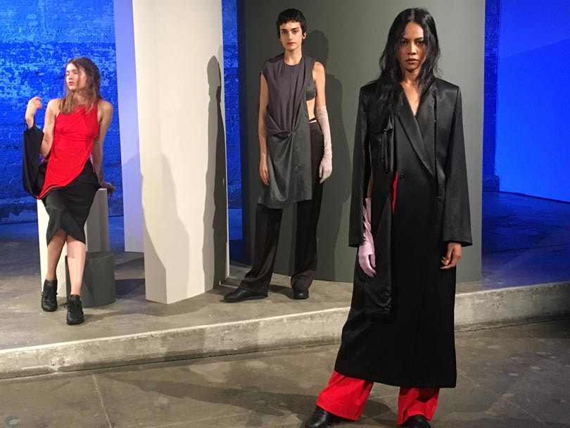 CFDA Fashion Futures Graduate Showcase 2018 at NYFW Men's