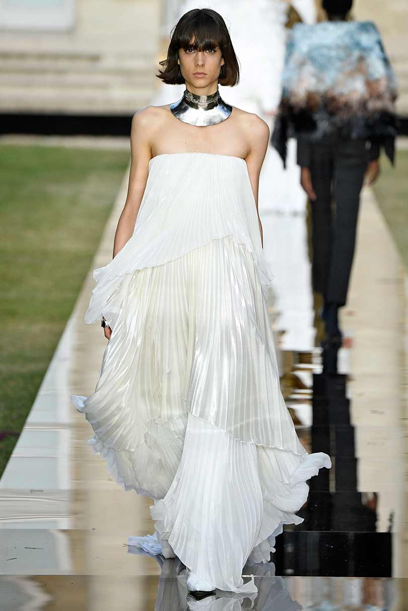 Givenchy homage on first day of Paris haute couture shows