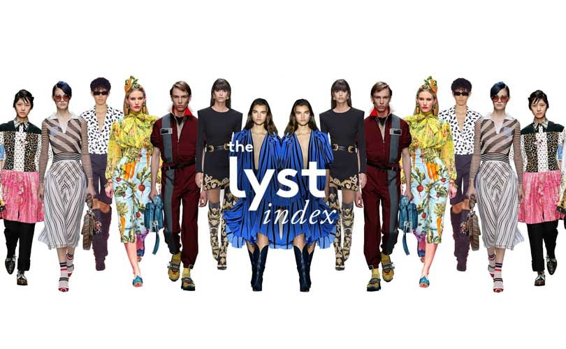 8ce2d84f6001 Lyst hottest brand ranking sees Gucci reclaim top spot