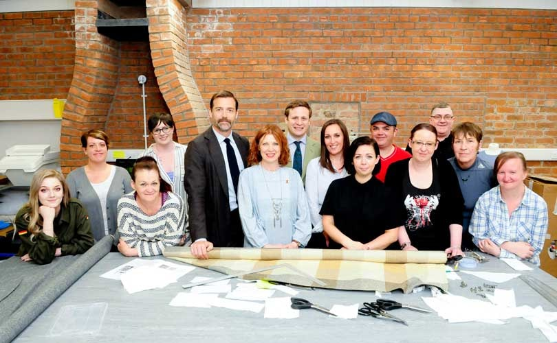 Patrick Grant named co-chair of Future Textiles programme