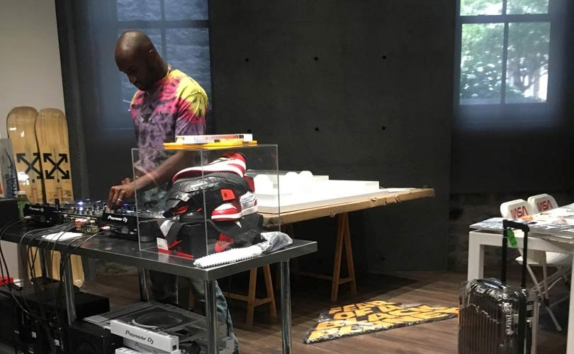 Exhibition in Montréal shows what Virgil Abloh's home studio looks like
