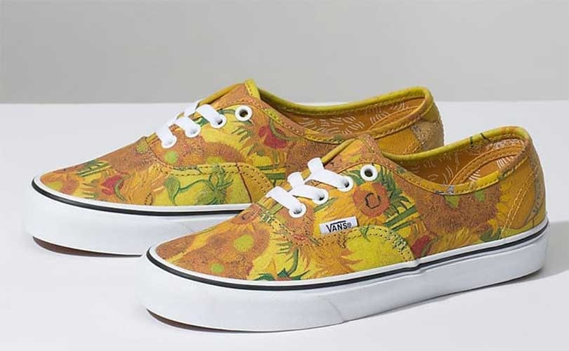 6032bdd0 Van Gogh's paintings come to life in new Vans collection